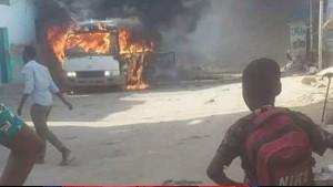 قتلى وجرحى في انفجار حافلة فريق كرة قدم في الصومال