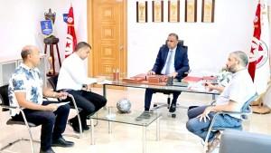هل أراد الجريء يكذيب شائعات فراره من تونس؟