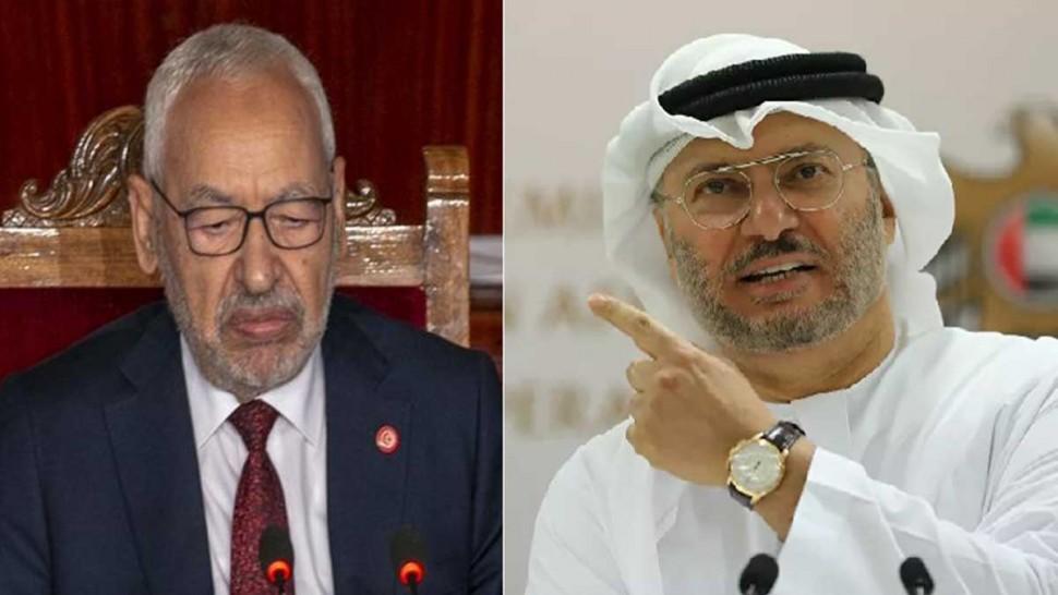 """المستشار الدبلوماسي لرئيس الإمارات يرد على الغنوشي: """"تعودنا الزج باسم الامارات لتبرير قصور محلي"""""""