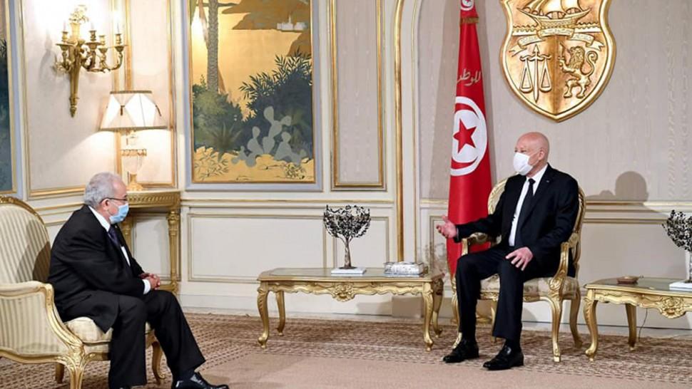 رئيس الجمهورية يستقبل وزير الخارجية الجزائري ( فيديو)
