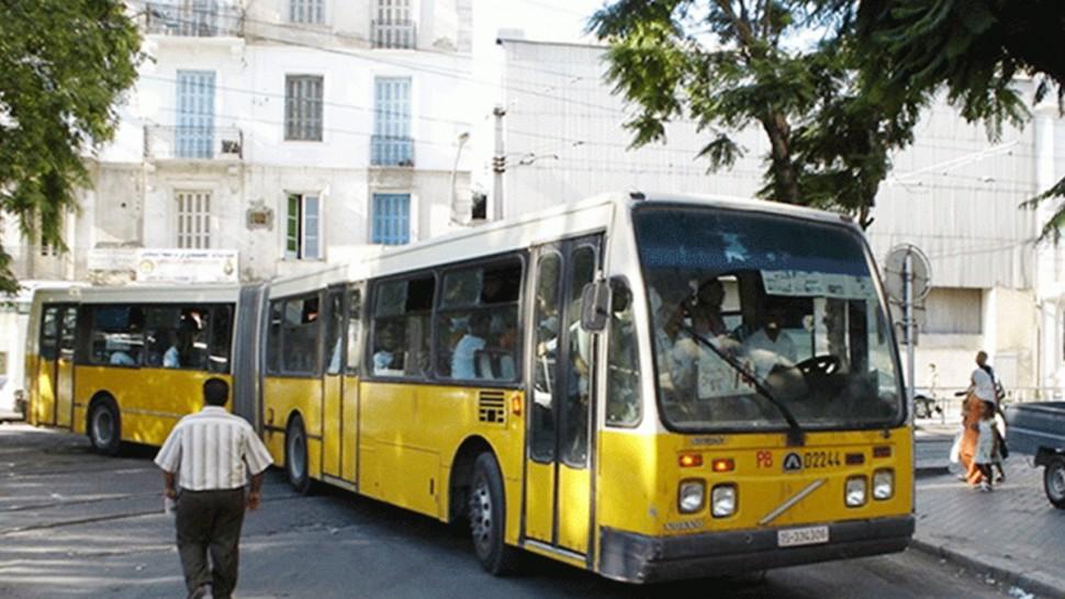 برمجة خطوط حافلات نقل المواطنين الى مراكز التلقيح بولايات تونس الكبرى