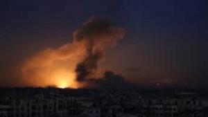 انفجارات عنيفة تهز العاصمة السورية دمشق
