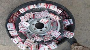 إحباط محاولة تهريب أكثر من 13 ألف حبة دواء مخدّر