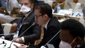أسامة الخليفي أمام الاتحاد البرلماني الدولي: تونس تعيش على وقع انحراف دستوري وقانوني خطير (فيديو)