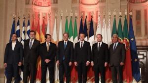 قادة دول جنوب الاتحاد الأوروبي يؤكدون ضرورة الحفاظ على الديمقراطية في تونس