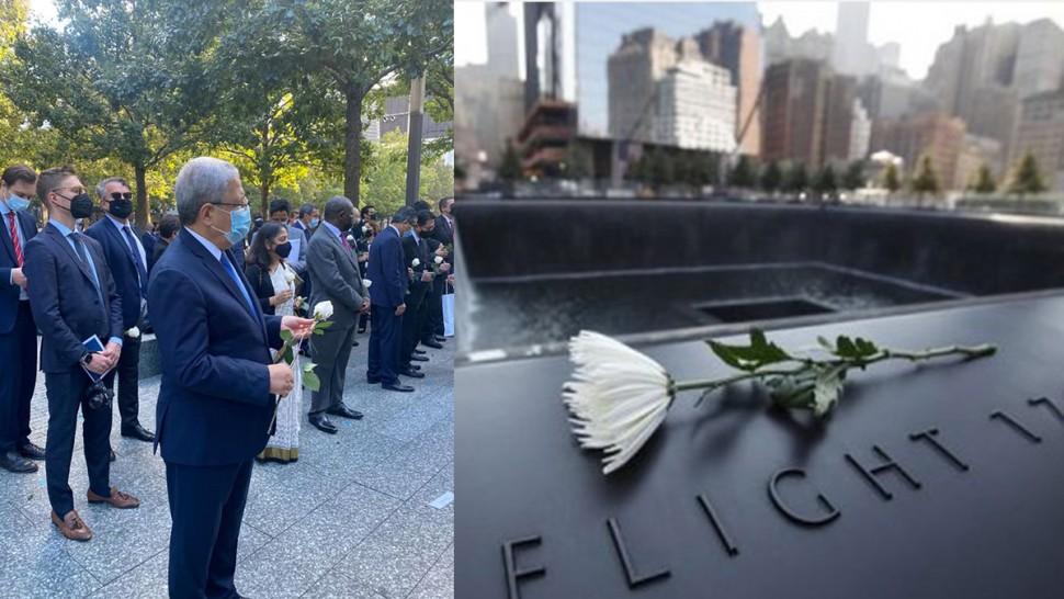 وزير الخارجية يشارك  بنيويورك في مراسم إحياء ذكرى هجمات 11سبتمبر