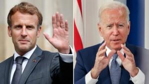 ماكرون وبايدن يتفقان على إعادة السفير الفرنسي إلى واشنطن