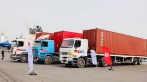 تونس تتسلّم هبة ألمانية تتمثل في 3 حاويات من الكمامات الطبية