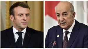 ماكرون: آمل أن ينتهي التوتر الدبلوماسي القائم مع الجزائر