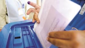 العراق : نسبة المشاركة الأولية في الانتخابات البرلمانية بلغت 41 بالمائة