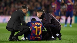 برشلونة : أغويرو و ديمبيلي يعودان للتدريبات
