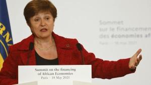 صندوق النقد الدولي يقرّر ابقاء مديرته العامّة في منصبها