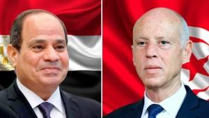 في مكالمة هاتفية مع سعيّد ...السيسي يؤكد دعم بلاده الكامل لتونس في مختلف المجالات