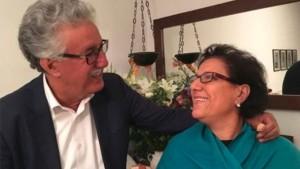 صورة اليوم : حمّة الهمّامي مع رفيقة دربه راضية النصراوي