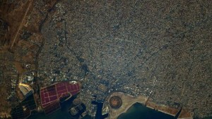 رائد الفضاء الفرنسي توماس بيسكي ينشر صورة لولاية صفاقس ويصفها بالمدهشة