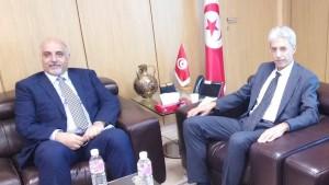 وزير الاقتصاد يبحث مع نظيره الليبي فرص تعزيز الشراكة بين البلدين