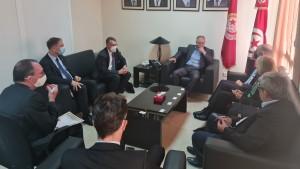خلال لقائه بالطبوبي : وزير الدولة الألماني للخارجية يؤكد دعم التجربة الديمقراطية التونسية